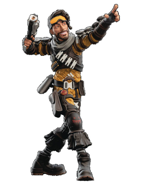 Mini Epics: Apex Legends Mirage 7-Inch Vinyl Statue