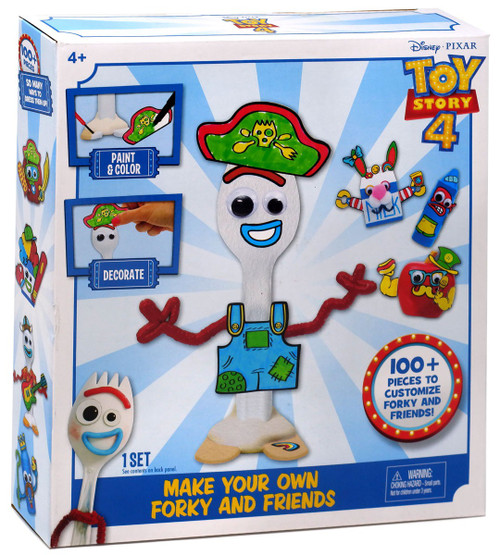 Toy Story 4 Make Your Own Forky & Friends Play Kit [Damaged Package]