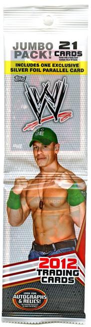 WWE Wrestling Topps 2012 Trading Card JUMBO Pack