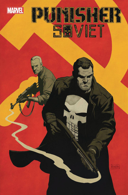 Marvel Comics Punisher Soviet #1 of 6 Comic Book