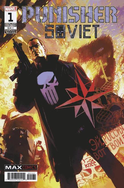 Marvel Comics Punisher Soviet #1 of 6 Comic Book [Josemaria Casanovas Variant Cover]