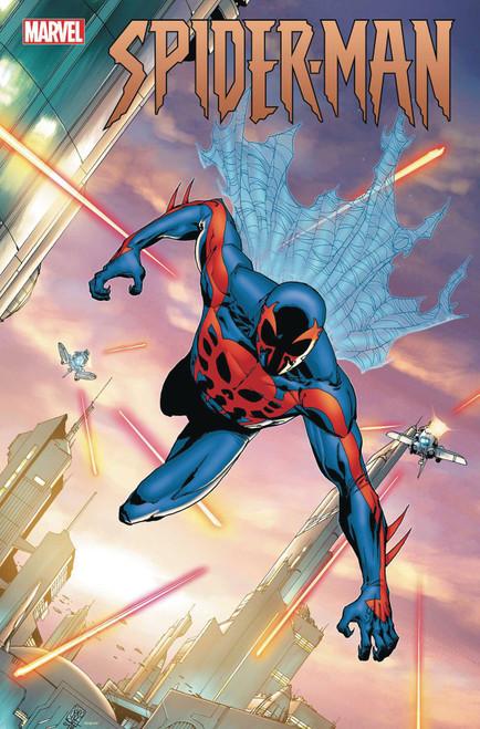 Marvel Spider-Man #3 of 5 By J.J & Henry Abrams Comic Book [Giuseppe Camuncoli 2099 Variant Cover]