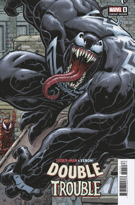 Marvel Comics Spider-Man & Venom Double Trouble #1 Comic Book [Arthur Adams Connecting Variant Cover]