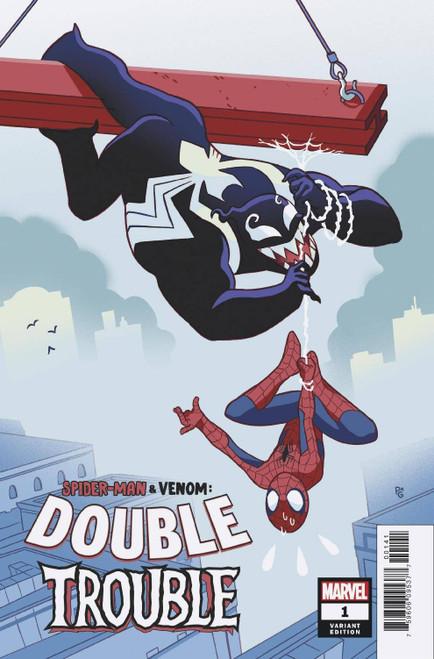 Marvel Comics Spider-Man & Venom Double Trouble #1 Comic Book [Paulina Ganucheau Variant Cover]