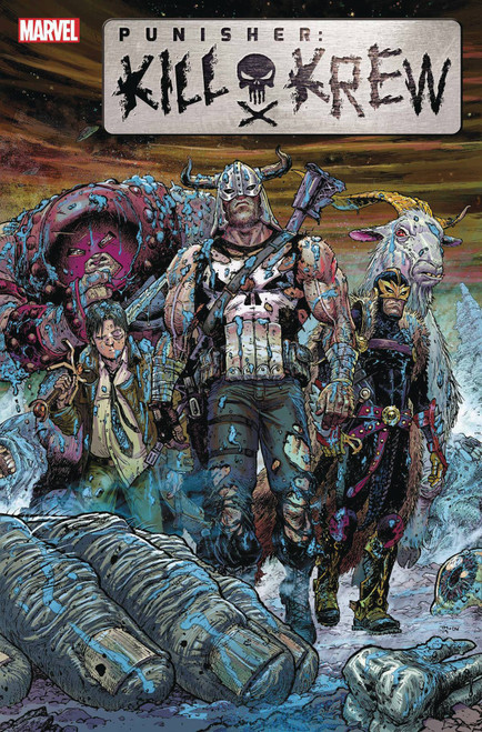 Marvel Comics Punisher Kill Krew #5 of 5 Comic Book