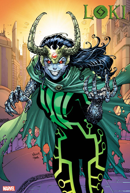 Marvel Comics Loki #5 Comic Book [Oscar Bazaldua 2099 Variant Cover]