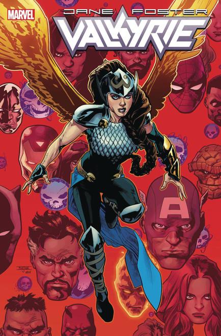 Marvel Comics Valkyrie Jane Foster #5 Comic Book