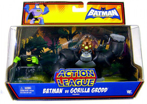 The Brave and the Bold Batman & Gorilla Grodd Action Figure 2-Pack