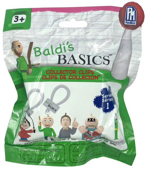 Baldi's Basics Collector Clips Mystery Pack