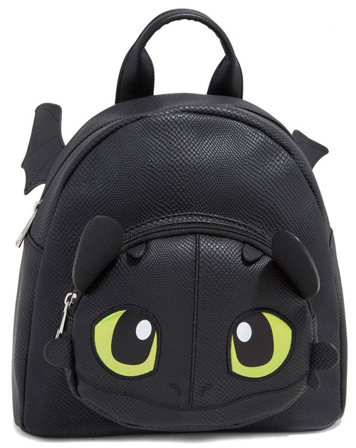 How to Train Your Dragon The Hidden World Toothless Mini Wing Backpack