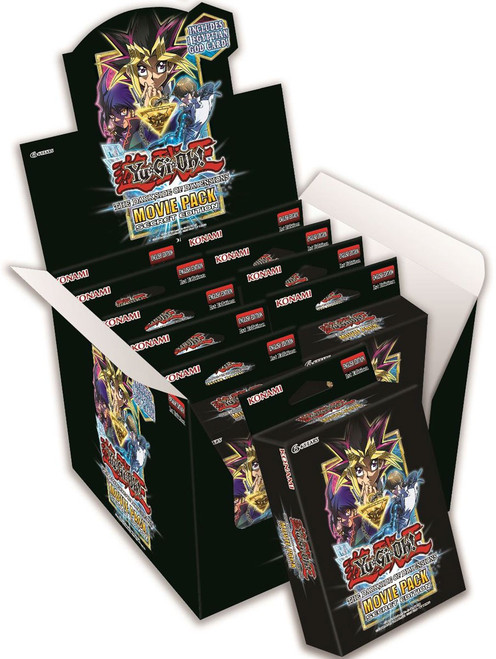 YuGiOh Trading Card Game Dark Side of Dimensions Movie Pack Secret Edition DISPLAY Box [10 Units]