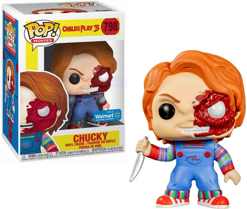 Funko Child's Play 3 POP! Movies Chucky Exclusive Vinyl Figure #798 [Bloody Face]
