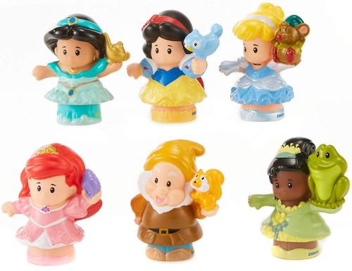 Fisher Price Little People Disney Princess Figure 6-Pack