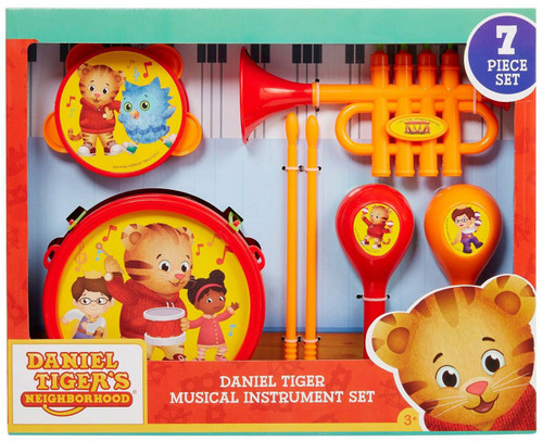 Daniel Tiger's Neighborhood Musical Instrument Set [Damaged Package]
