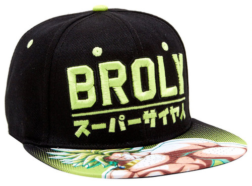 Dragon Ball Z Dragon Ball Super Broly Snapback Cap
