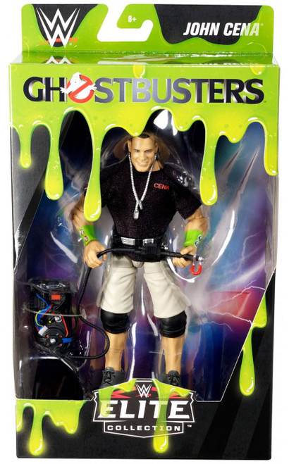 WWE Wrestling Elite Collection Ghostbusters John Cena Exclusive Action Figure