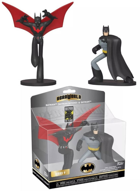 Funko DC Hero World Series 9 Batman Beyond & Batman Exclusive 4-Inch Vinyl Figure 5-Pack