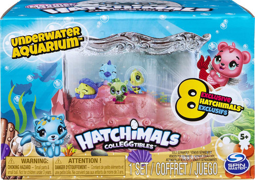 Hatchimals Colleggtibles Season 5 Mermal Magic Underwater Aquarium Exclusive Playset
