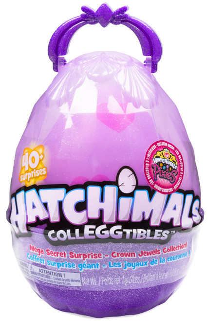 Hatchimals Colleggtibles Crown Jewels Collection Mega Secret Surprise Mystery Set