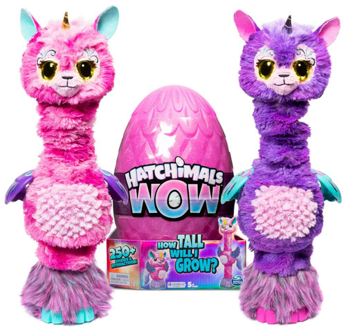 Hatchimals WOW Llalacorn Magical Creature [Styles May Vary]