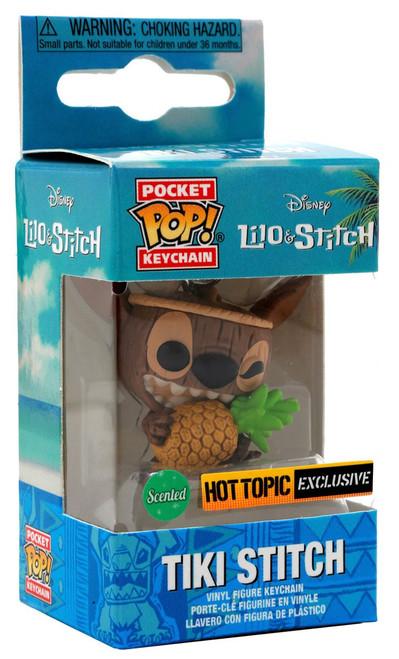 Funko Lilo & Stitch POP! Disney Tiki Stitch Exclusive Keychain [Scented]