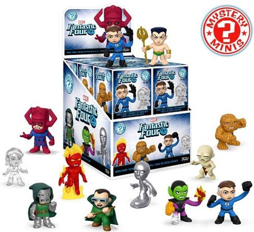 Funko Marvel Mystery Minis Fantastic Four Mystery Box [12 Packs]