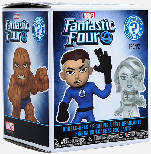 Funko Marvel Mystery Minis Fantastic Four Mystery Pack