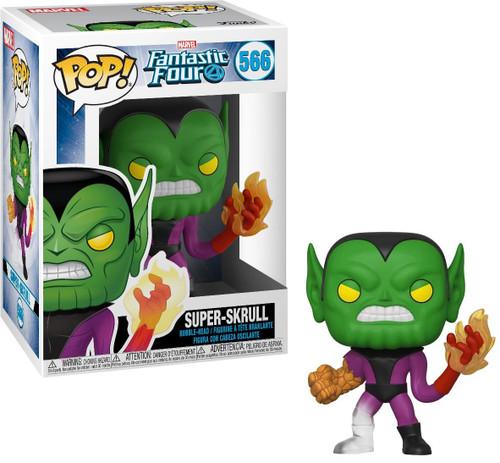 Funko Fantastic Four POP! Marvel Super-Skrull Vinyl Bobble Head