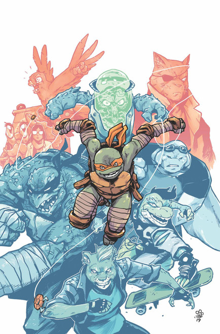 IDW Teenage Mutant Ninja Turtles Ongoing #98 Comic Book [Michael Dialynas Variant Cover]