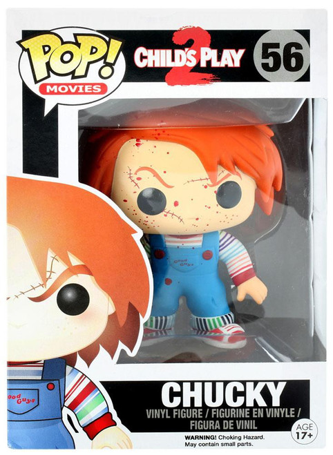 Funko Child's Play 2 POP! Movies Chucky Exclusive Vinyl Figure #56 [Bloody Variant, Damaged Package]
