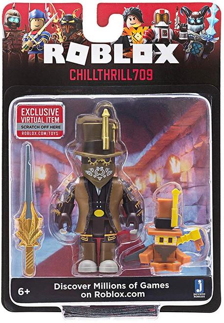 Roblox Chillthrill709 Action Figure