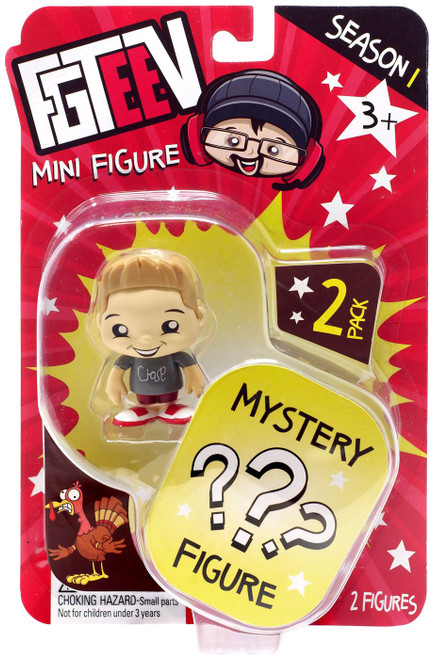 FGTeeV Season 1 Chase & Mystery Action Figure 2-Pack