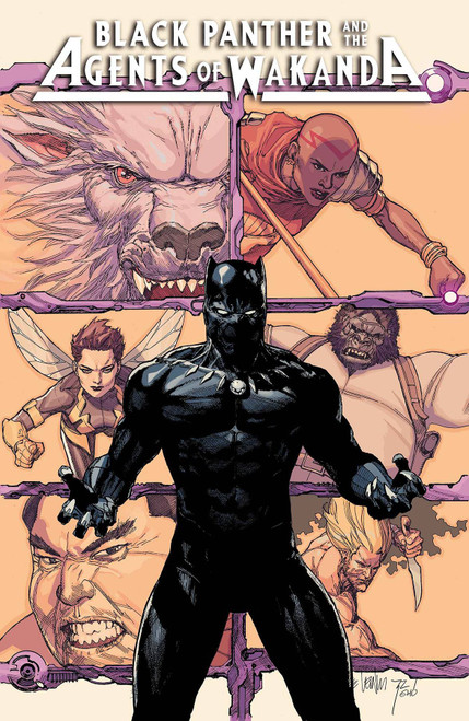 Marvel Comics Black Panther and Agents of Wakanda #1 Comic Book [Leinil Francis Yu Variant Cover]