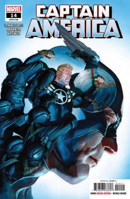 Marvel Comics Captain America #14 Comic Book