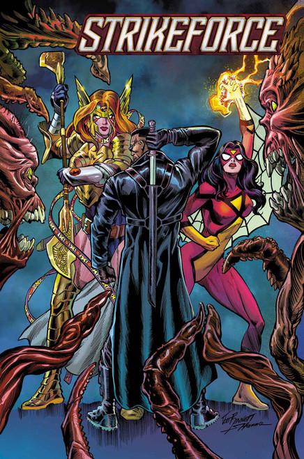 Marvel Comics Strikeforce #1 Comic Book [Joe Bennett Variant Cover]