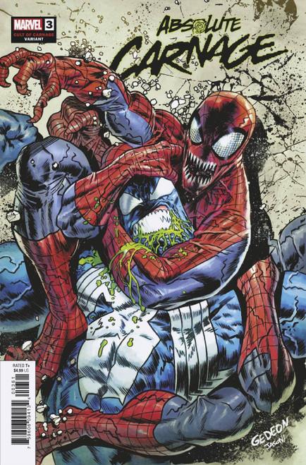 Marvel Comics Absolute Carnage #3 Comic Book [Juan Gedeon Variant Cover]