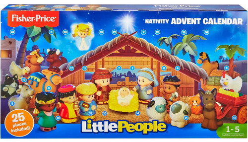Fisher Price Little People Nativity Advent Calendar [25 Pieces!]