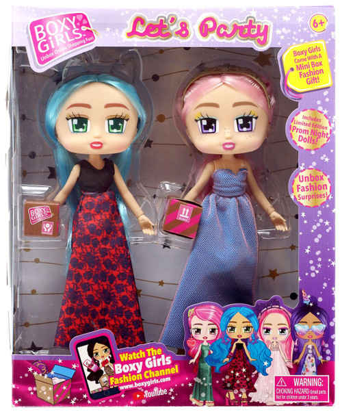 Boxy Girls Let's Party Khloe & Gabriella Doll 2-Pack