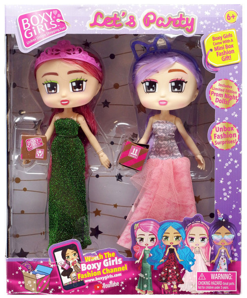 Boxy Girls Let's Party Gracie & Jasmine Doll 2-Pack