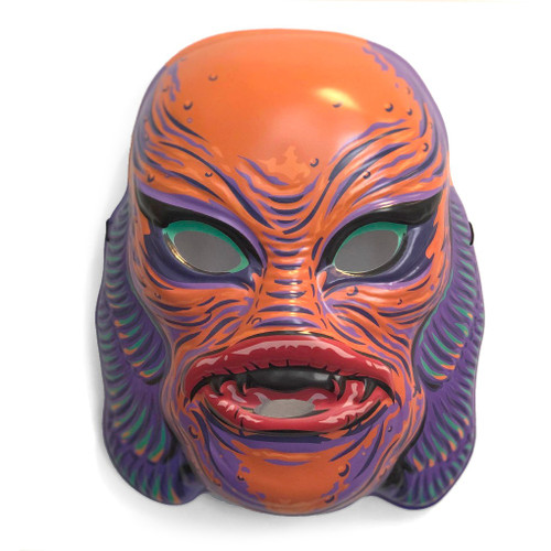Universal Monsters Creature From the Black Lagoon Retro Monster Mask [Orange]