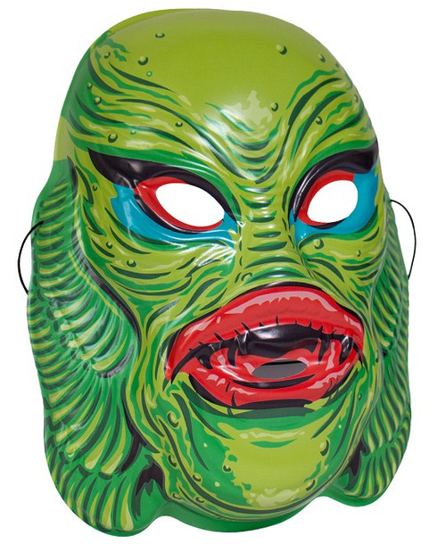 Universal Monsters Creature From the Black Lagoon Retro Monster Mask [Green]