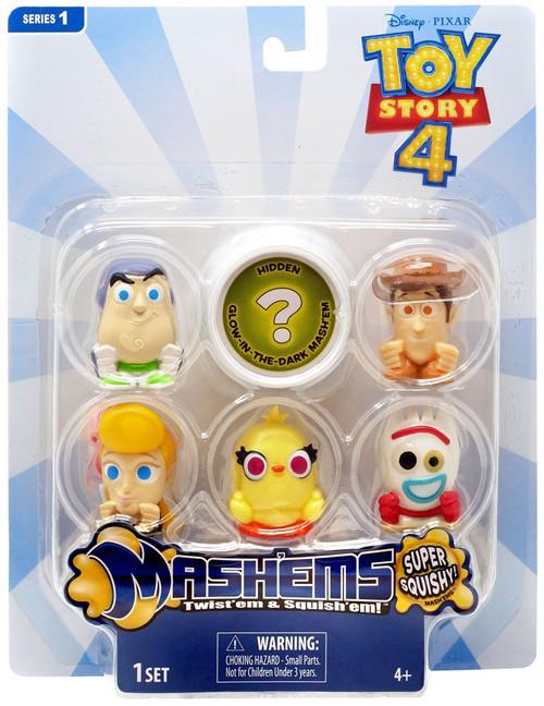 Disney / Pixar Mash'Ems Series 1 Toy Story 4 Figure 6-Pack