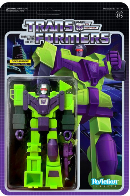 ReAction Transformers Devastator Action Figure