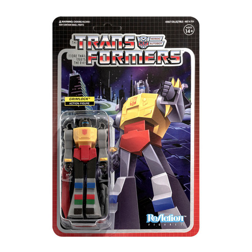 ReAction Transformers Grimlock Action Figure (Pre-Order ships January)