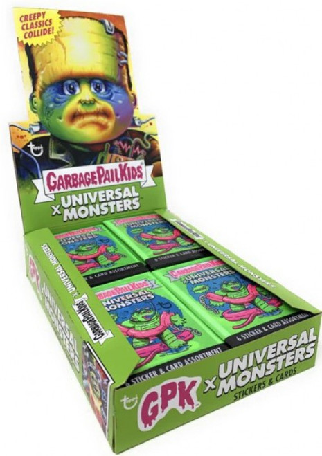 Garbage Pail Kids Wave 2 Universal Monsters Trading Card Box [24 Packs]