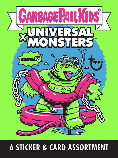 Garbage Pail Kids Wave 2 Universal Monsters Trading Card Pack