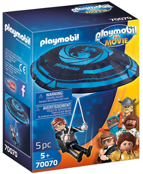 Playmobil The Movie Rex Dasher with Parachute Set #70070