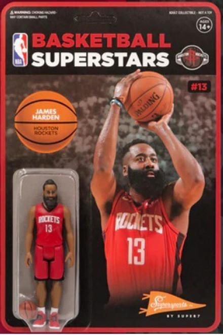 ReAction NBA Houston Rockets James Harden Action Figure (Pre-Order ships February)