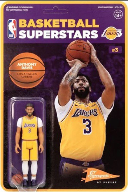 ReAction NBA Los Angeles Lakers Anthony Davis Action Figure