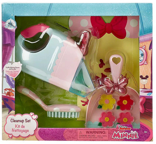 Disney Minnie Mouse Vacuum Cleanup Exclusive Playset